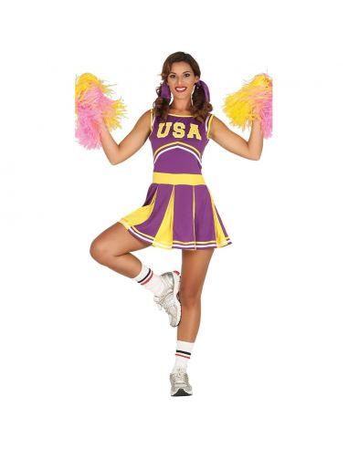 Disfraz de Cheerleader Adulta Tienda de disfraces online - venta disfraces