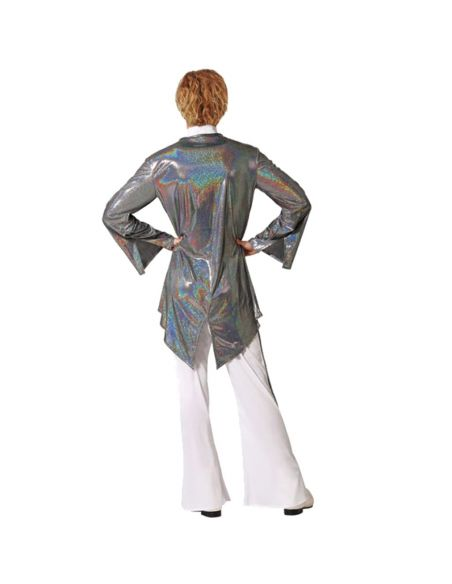 Disfraz Estrella del Rock Plateado Tienda de disfraces online - venta disfraces
