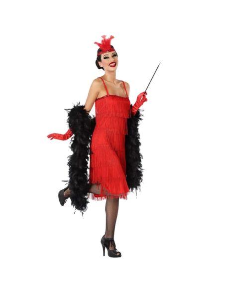 Disfraz de Charleston rojo para adulto Tienda de disfraces online - venta disfraces