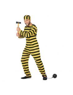 Disfraz de Preso Amarillo para hombre Tienda de disfraces online - venta disfraces