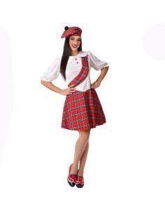 Disfraz de Escocesa mujer Tienda de disfraces online - venta disfraces