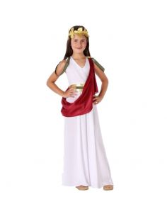 Disfraz Romana Blanca niña Tienda de disfraces online - venta disfraces