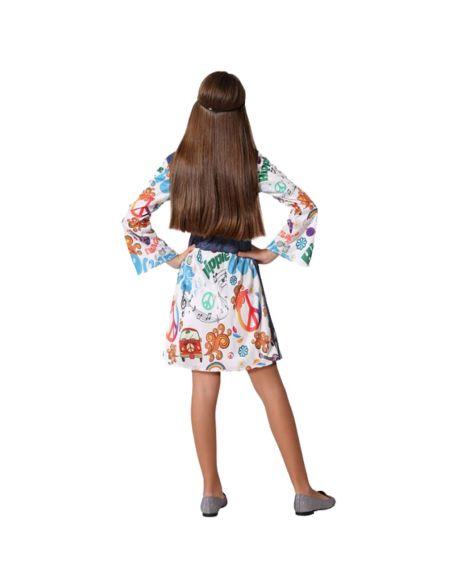 Disfraz Hippie Vaquera niña Tienda de disfraces online - venta disfraces