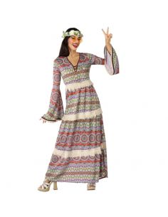 Disfraz Vestido Hippie para Mujer Tienda de disfraces online - venta disfraces