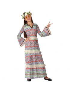 Disfraz Hippie psicodélico para niña Tienda de disfraces online - venta disfraces