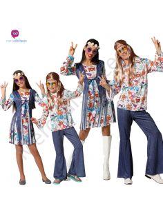 Disfraces para grupos de Hippies baratos Tienda de disfraces online - venta disfraces