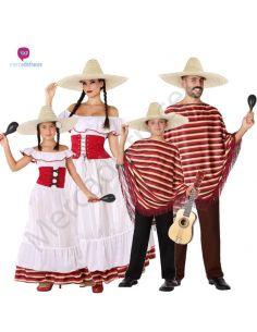 Disfraces para grupos de Mejicanos baratos Tienda de disfraces online - venta disfraces