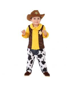 Disfraz de Pistolero Sherif para Bebe Tienda de disfraces online - venta disfraces