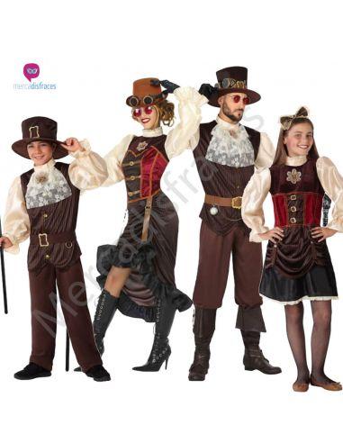 Disfraces Grupos Steampunk Tienda de disfraces online - venta disfraces