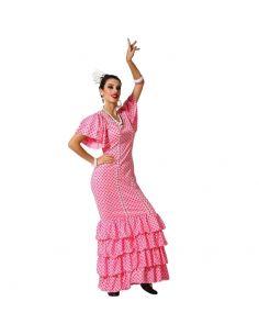 Disfraz de Flamenca Rosa mujer Tienda de disfraces online - venta disfraces