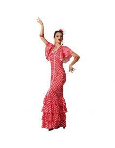 Disfraz de Flamenca Rojo mujer Tienda de disfraces online - venta disfraces