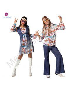 Disfraz Pareja de Hippies