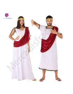 Disfraz Pareja de Romanos