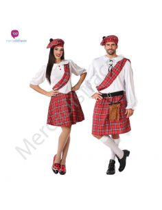 Disfraz Pareja de Escoceses