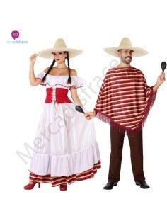 Disfraz Pareja de Mejicanos