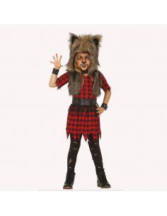 Disfraz Lobo Rebelde para niña Tienda de disfraces online - venta disfraces
