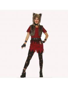 Disfraz Lobo Rebelde para mujer Tienda de disfraces online - venta disfraces