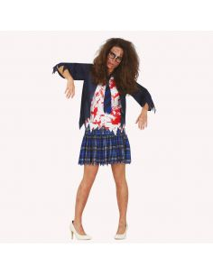 Disfraz Estudiante Zombie Mujer Tienda de disfraces online - venta disfraces