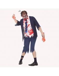 Disfraz Estudiante Zombie Hombre Tienda de disfraces online - venta disfraces