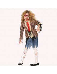 Disfraz Zombie Estudiante niña Tienda de disfraces online - venta disfraces