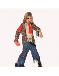 Disfraz Zombie Estudiante niño Tienda de disfraces online - venta disfraces