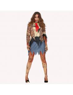 Disfraz Zombie Estudiante Mujer Tienda de disfraces online - venta disfraces