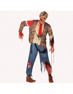 Disfraz Zombie Estudiante Hombre Tienda de disfraces online - venta disfraces