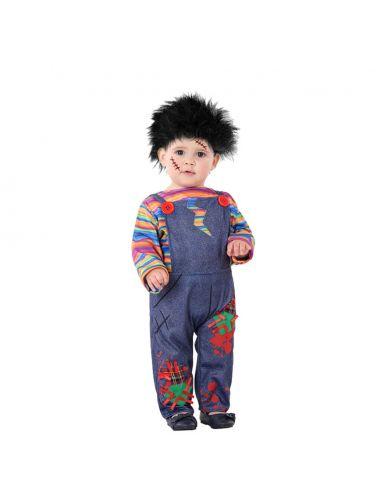 Disfraz de Muñeco Diabólico para bebe Tienda de disfraces online - venta disfraces