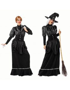 Disfraz Bruja Negro Años 20 adulto Tienda de disfraces online - venta disfraces