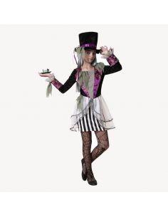 Disfraz Sombrerera Loca niña