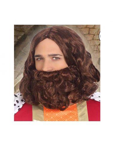 Peluca con Barba y Bigote de Profeta Tienda de disfraces online - venta disfraces