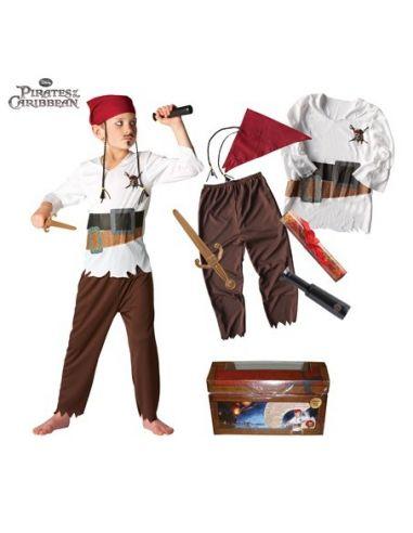 Cofre Piratas del Caribe 4 Tienda de disfraces online - venta disfraces