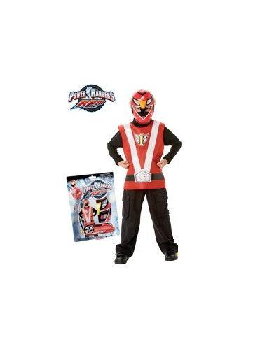 Set Power Ranger Rojo infantil Tienda de disfraces online - venta disfraces