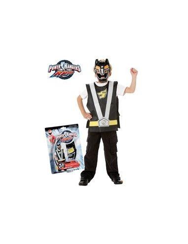 Set Power Ranger Negro infantil Tienda de disfraces online - venta disfraces