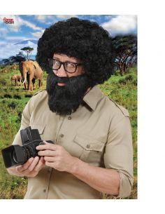 Barba con Bigote Negro Tienda de disfraces online - venta disfraces