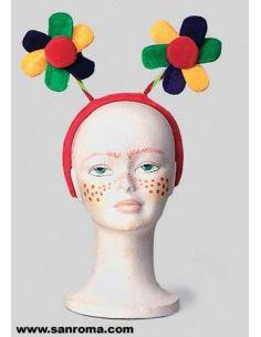 Diadema con Flores Tienda de disfraces online - venta disfraces
