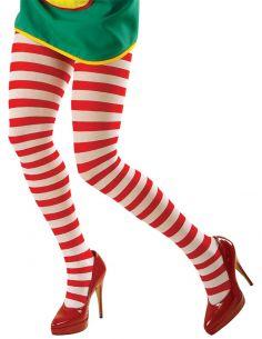 Panty a Rayas Blancas y Rojas Talla XL Tienda de disfraces online - venta disfraces