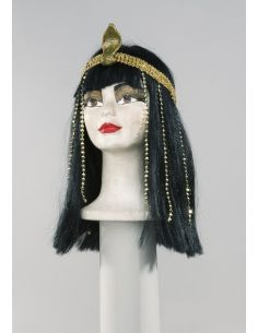Peluca Cleopatra con Tocado Tienda de disfraces online - venta disfraces