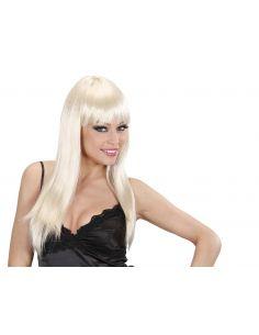 Peluca Rubia Larga Tienda de disfraces online - venta disfraces