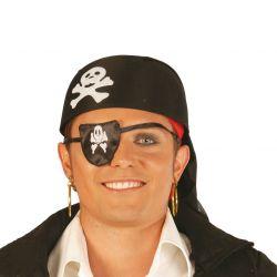 Pañuelo de Pirata  Negro...
