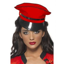 Gorra Militar Pop Star Roja