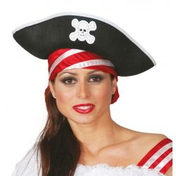 Sombrero Fieltro Pirata