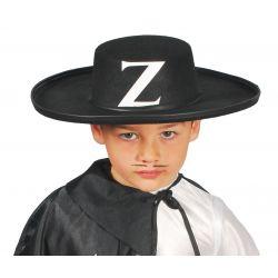 Sombrero Fieltro Zorro