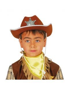 Sombrero Sheriff Fieltro...