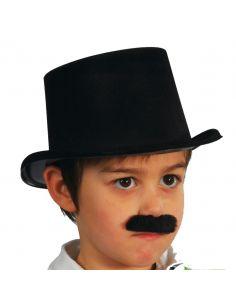 Sombrero Chistera en Flocado infantil  Tienda de disfraces online - venta disfraces