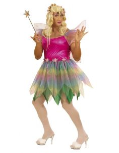 Disfraz Hada Ninfa del Arco Iris Talla XL Tienda de disfraces online - venta disfraces