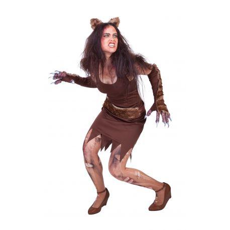 disfraz mujer lobo
