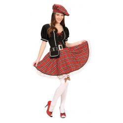 Disfraz de Mujer Escocesa
