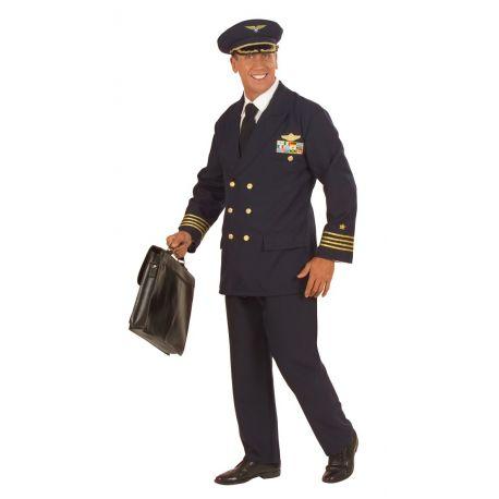 Disfraz de Piloto de Avión Talla XXL Tienda de disfraces online - venta disfraces