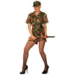 Disfraz de Mujer Militar